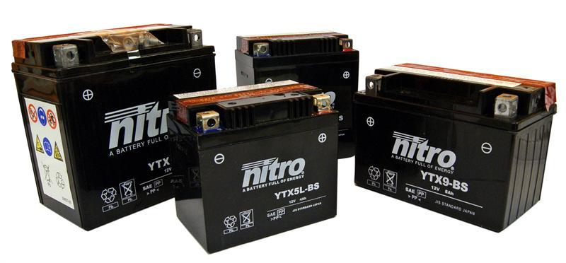 Nitro batteries