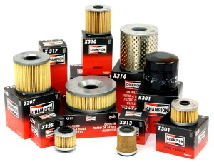 A Variety of Champion Oil Filters