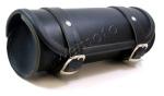 Black Leather Tool Roll