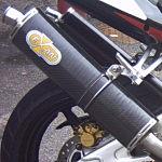 Exan Classic Oval Carbon Fibre Silencer