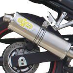 Exan Classic Oval Steel Silencer