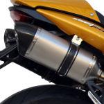 Exan X-Black Titanium Silencer Pair Triumph Street Triple