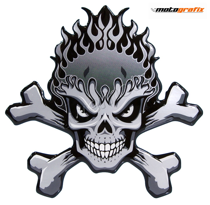 Motografix Tank Pad - Skull and Crossbones
