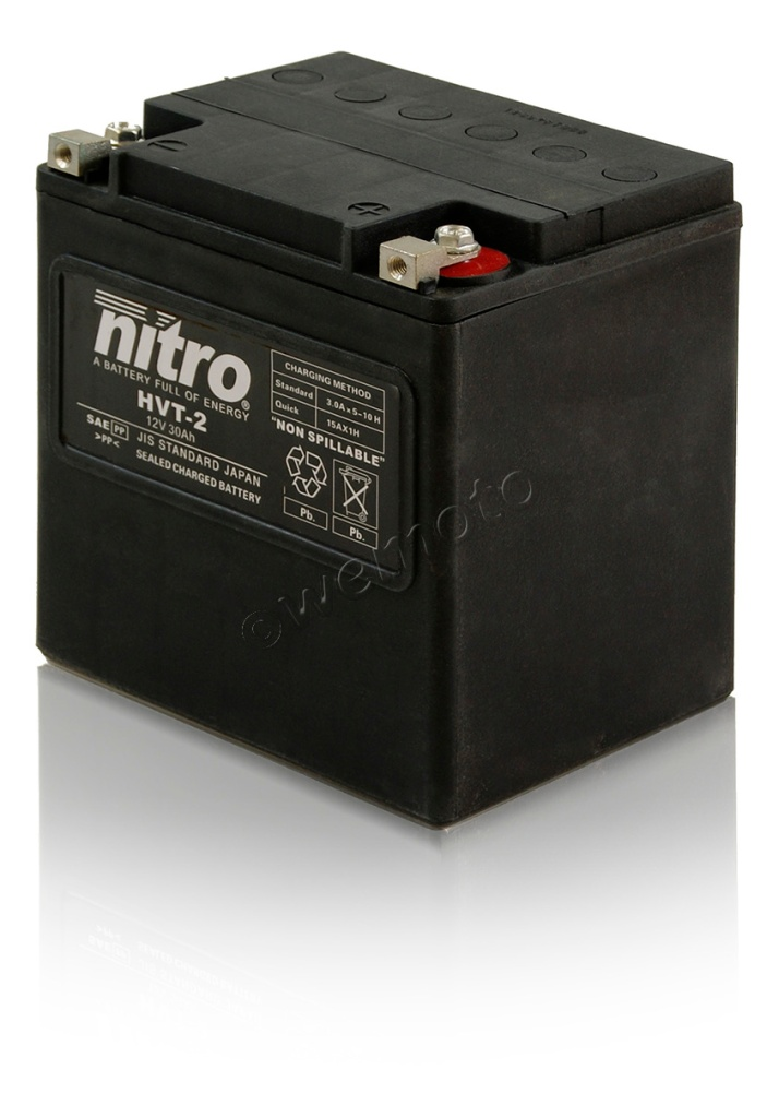Nitro battery for Harley Davidson FLHT Electra Glide