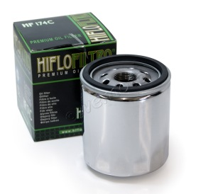HiFlo Chrome Oil Filter