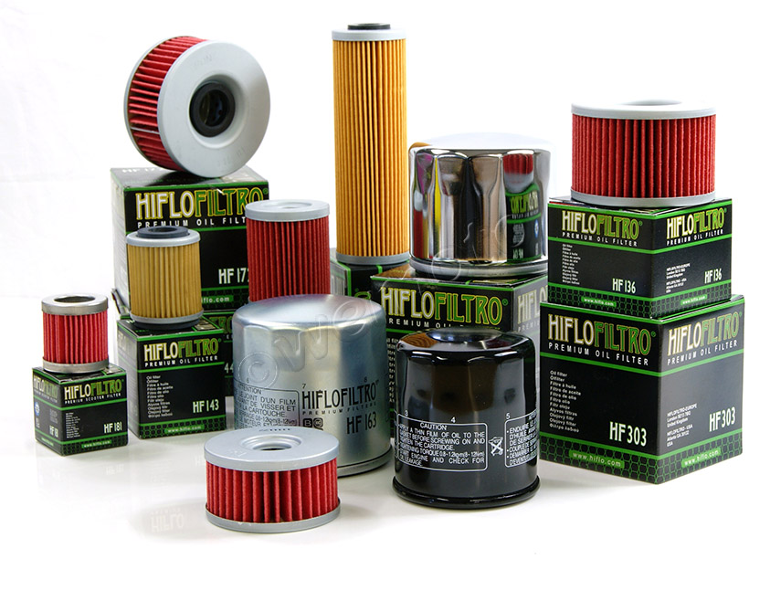 Range of HiFlo Filters