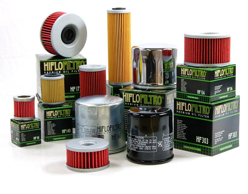 Range of HiFlo Filters