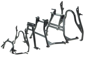 An extensive range of centre stands are stocked at Wemoto