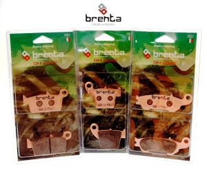Brenta sintered, off-road brake pads at Wemoto
