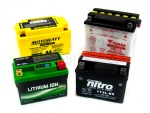 A range of batteries is available at Wemoto