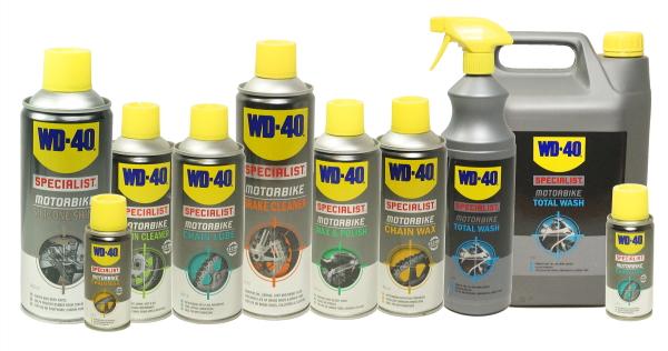WD-40 motorcycle range