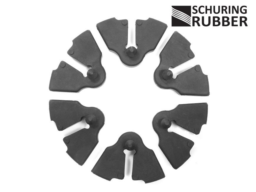 suzuki gt cush drive rubber set