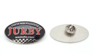 Festival of Jurby Pin Badge